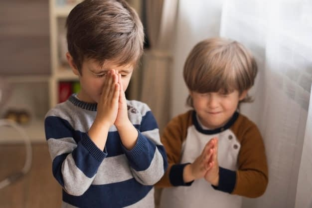Молитвы для самых маленьких