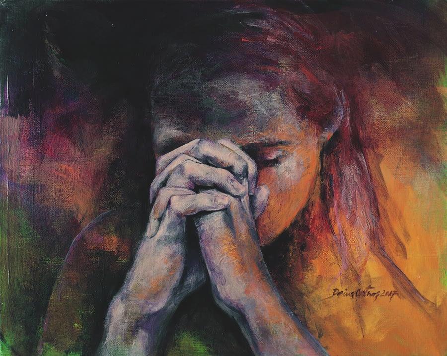 1 praying dorina costras